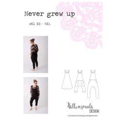 Never grew up_Hallonsmula Design_symønster_luieluie.dk
