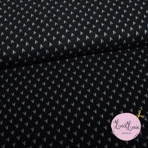 Jacquard-jersey med mønster