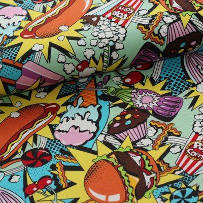 Alexander Henry Fabrics – Midnight Snack (flannel)