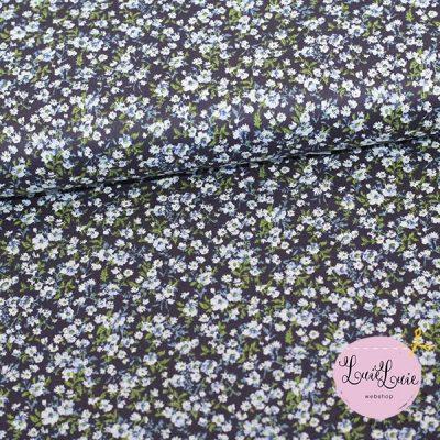 Kokka – fast bomuld med små blomster