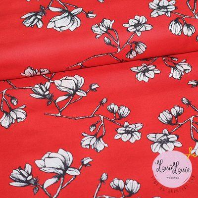 Art Gallery Fabrics : Magnolia Study Silkroad : fast bomuld