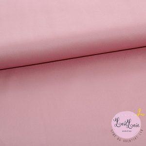Bomuldssatin i lys rosa