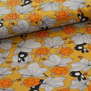 Paapii : Hilda organic sweatshirt knit : ochre/orange