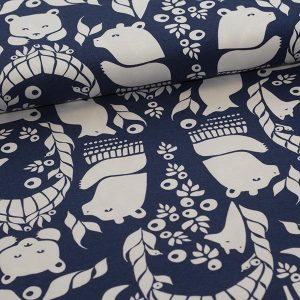 Paapii : Gates og Pohjola organic jersey : blueberry