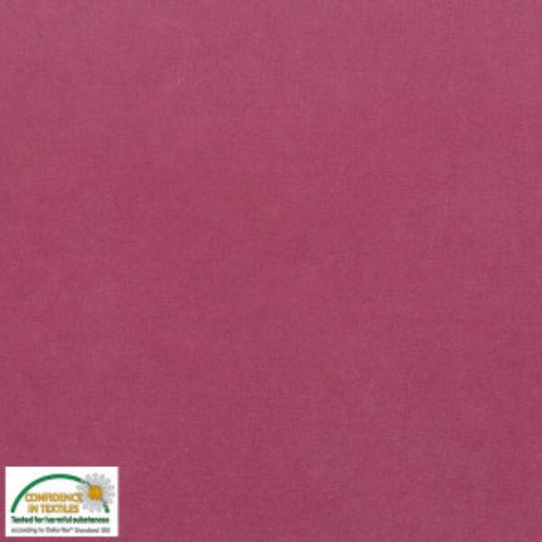 Bomuldsvelour i rosa fv. 002