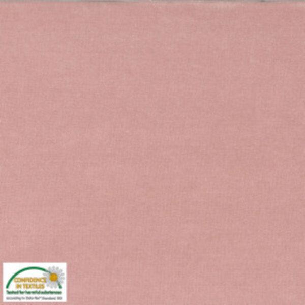 Bomuldsvelour i sart rosa fv. 012