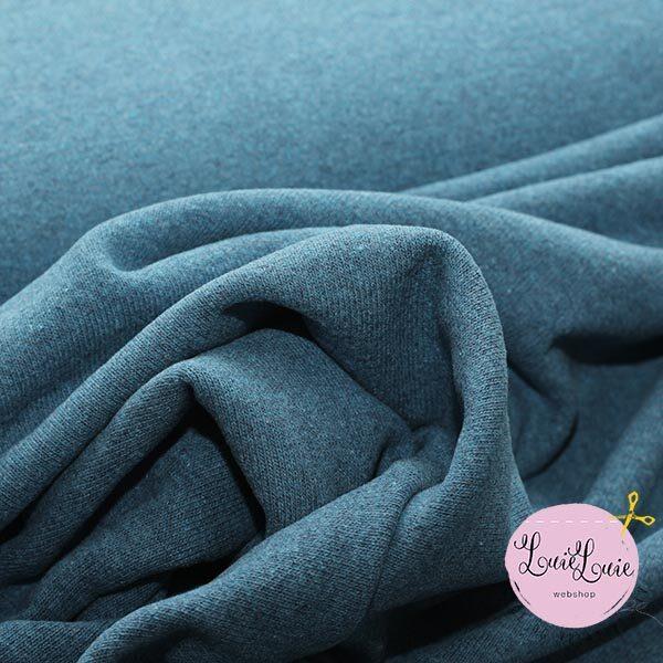 Jersey-strik i gråblå